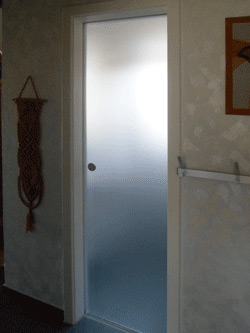 Neue Türe